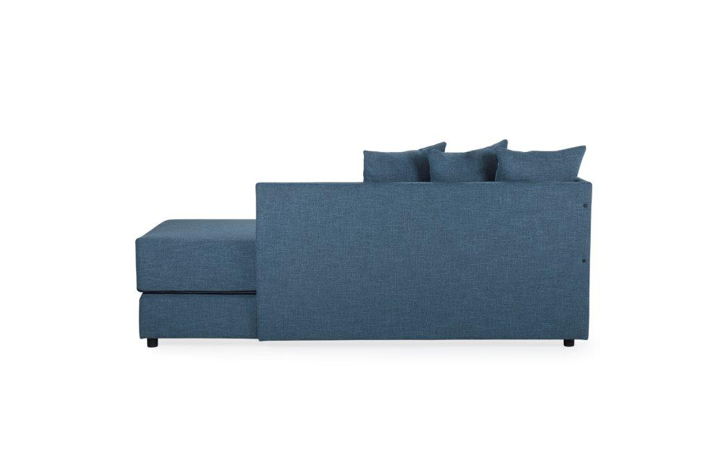 TWAIN sleeping sofa (WESTER 16 blue) (1) softnord soft nord scandinavian style furniture modern interior design sofa bed chair pouf upholstery