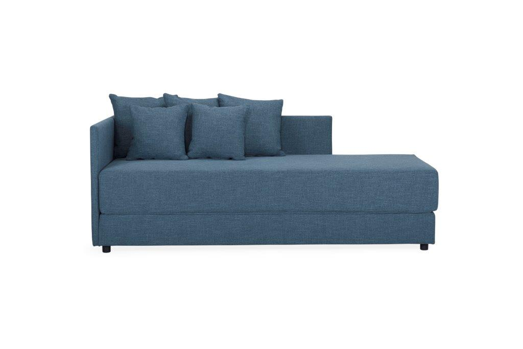 TWAIN sleeping sofa (WESTER 16 blue) (2) softnord soft nord scandinavian style furniture modern interior design sofa bed chair pouf upholstery