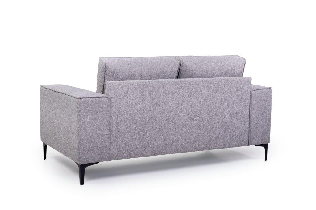 COPENHAGEN 2 seater (GUSTO 3.1 light grey) back softnord soft nord scandinavian style furniture modern interior design sofa bed chair pouf upholstery