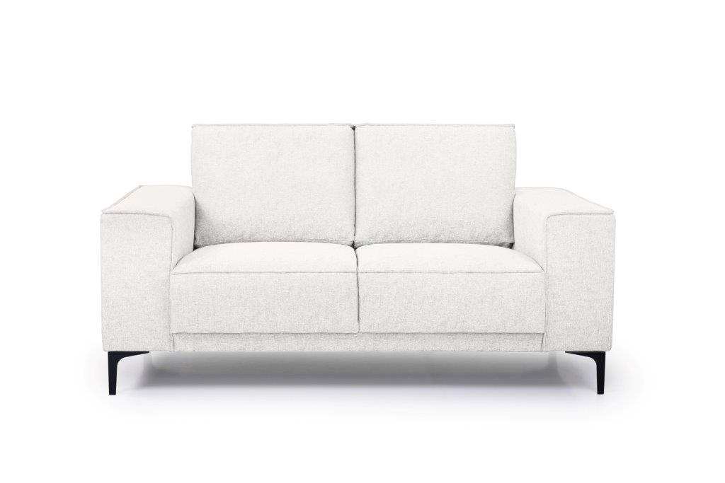 COPENHAGEN 2 seater (GUSTO 4 sand) front softnord soft nord scandinavian style furniture modern interior design sofa bed chair pouf upholstery