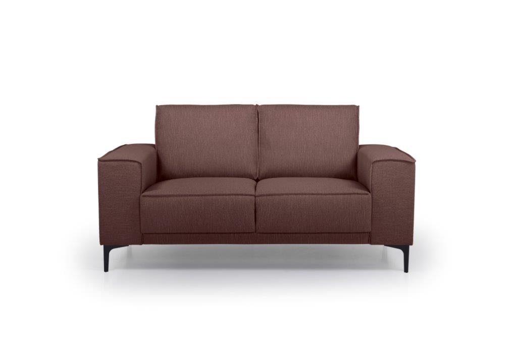 COPENHAGEN 2 seater (RONDA 15 purple) front softnord soft nord scandinavian style furniture modern interior design sofa bed chair pouf upholstery