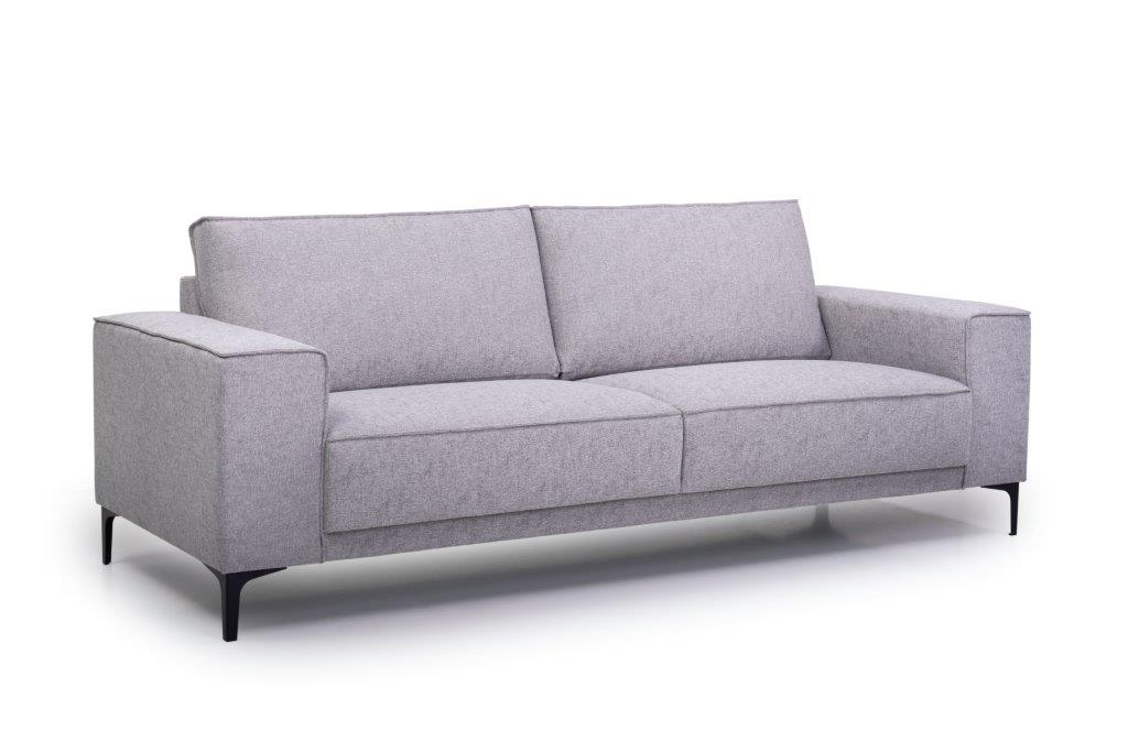 COPENHAGEN 3 seater (GUSTO 3.1 light grey) side softnord soft nord scandinavian style furniture modern interior design sofa bed chair pouf upholstery
