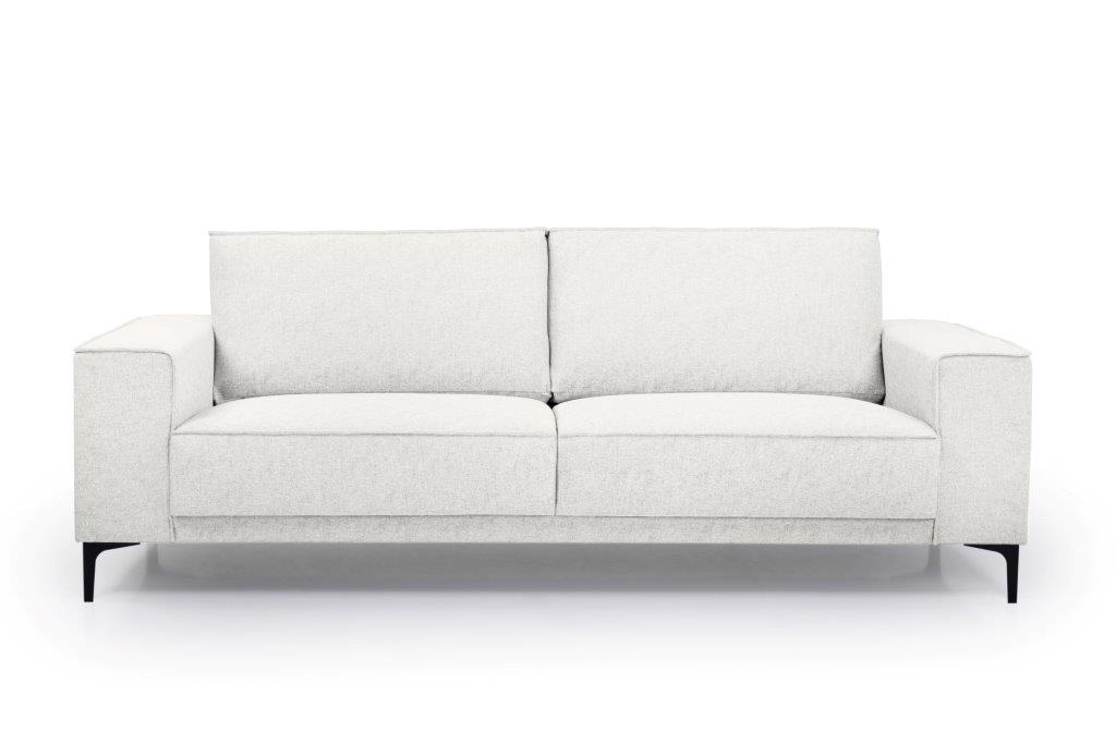 COPENHAGEN 3 seater (GUSTO 4 sand) front softnord soft nord scandinavian style furniture modern interior design sofa bed chair pouf upholstery