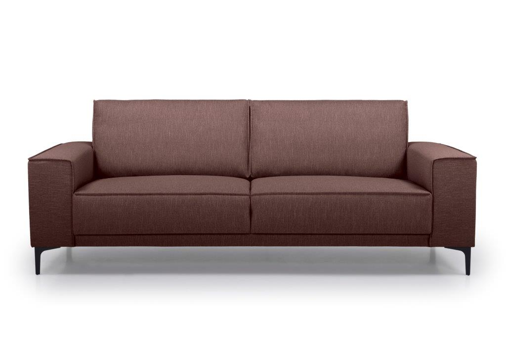 COPENHAGEN 3 seater (RONDA 15 purple) front softnord soft nord scandinavian style furniture modern interior design sofa bed chair pouf upholstery
