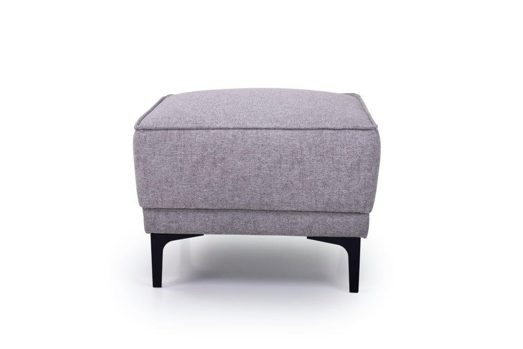 COPENHAGEN pouf (GUSTO 3.1 light grey) front softnord soft nord scandinavian style furniture modern interior design sofa bed chair pouf upholstery