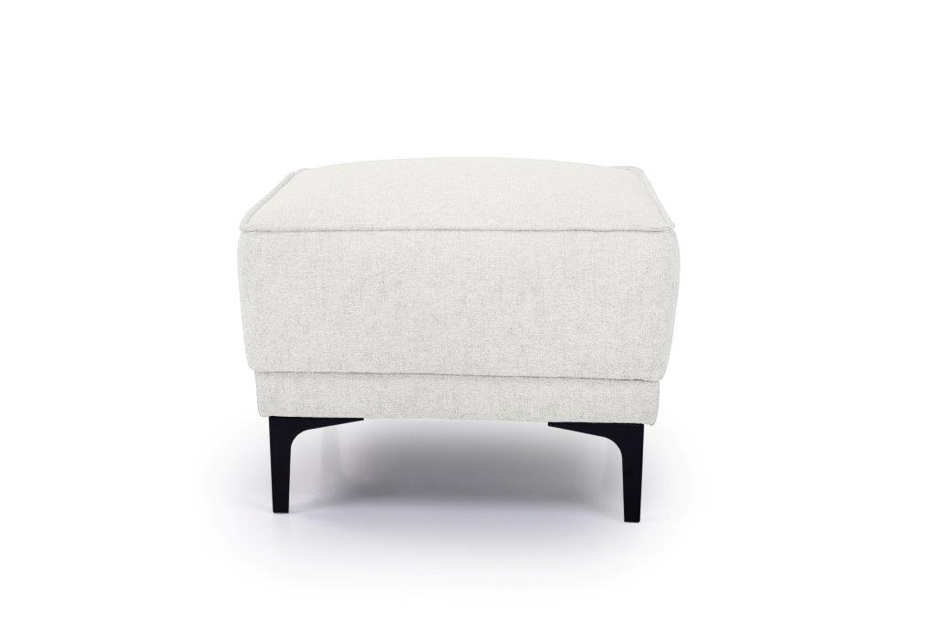 COPENHAGEN pouf (GUSTO 4 sand) front softnord soft nord scandinavian style furniture modern interior design sofa bed chair pouf upholstery