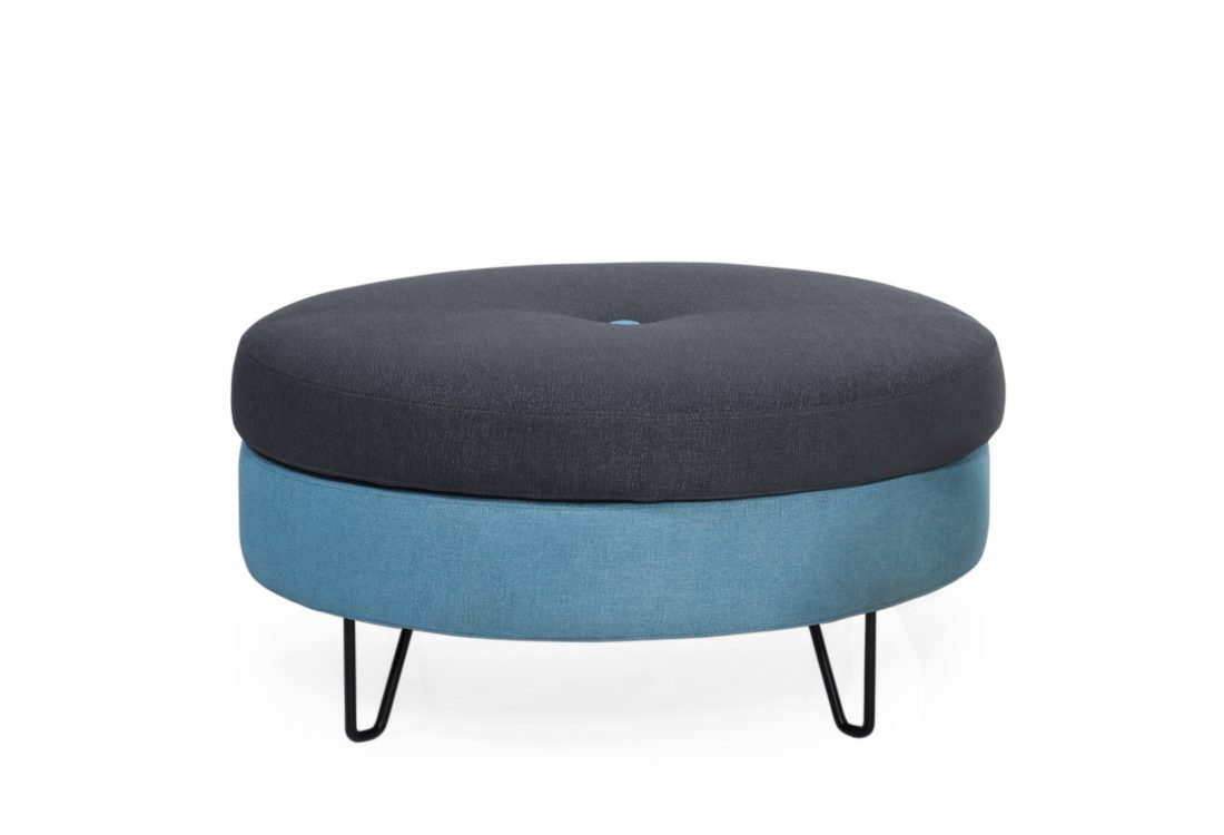 Carate big pouffe with storage sofa scandinavian style softnord