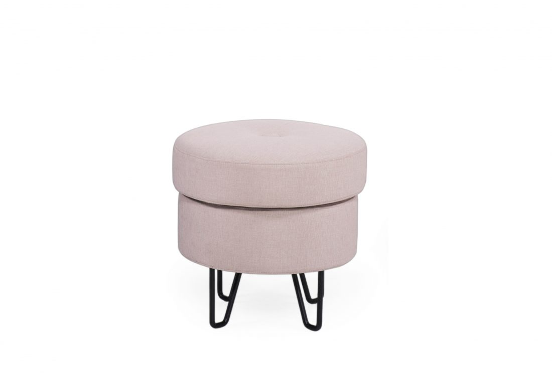 Carate small pouffe with storage sofa scandinavian style softnord