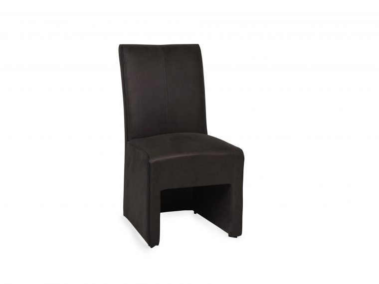 DINING_CHAIR (Wrangler 5 brown_piping PVC_Matodor PU black)
