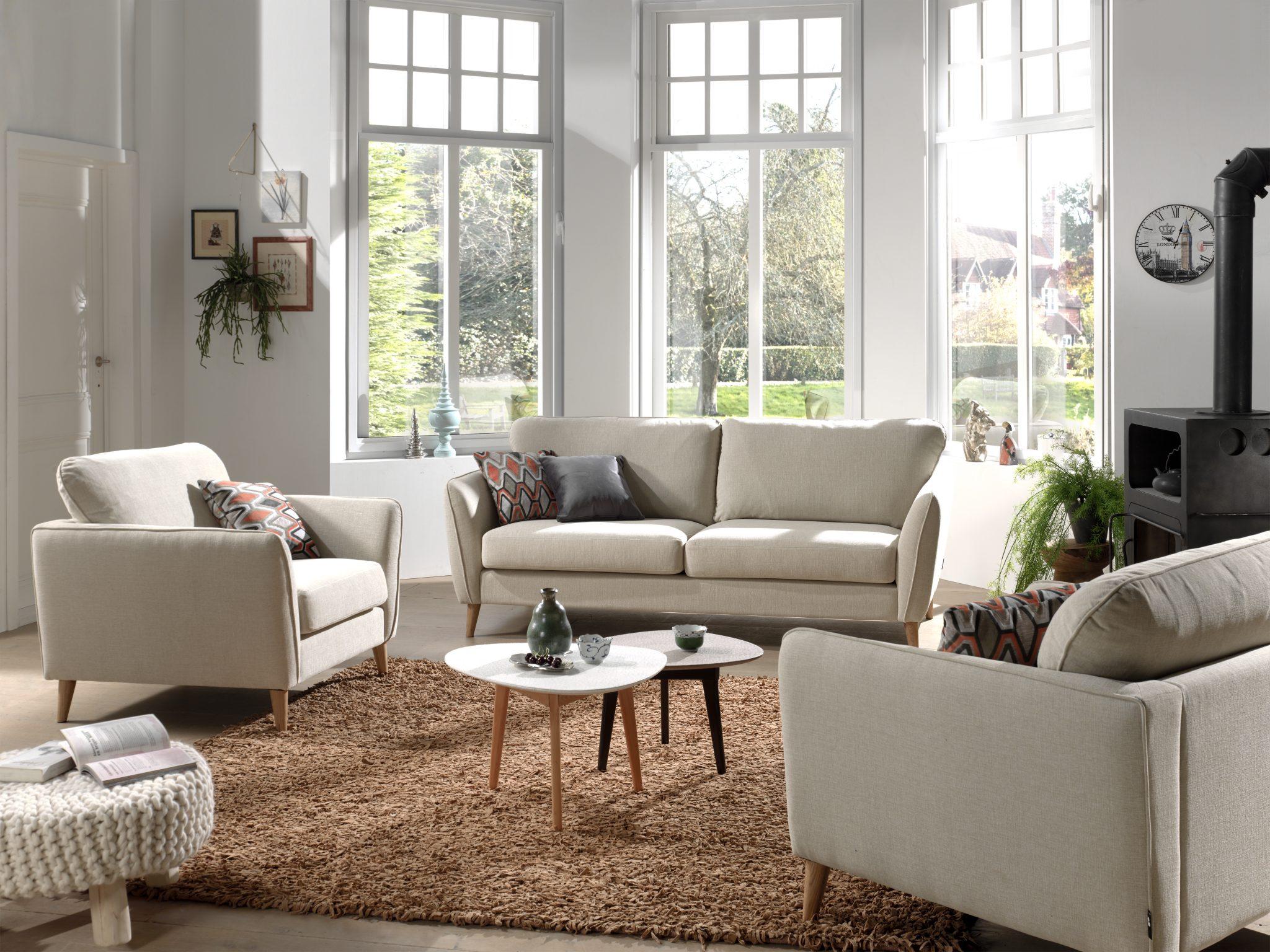 Harlow 311 Luiza 8 Beige FR1 (high Rez) Softnord Soft Nord Scandinavian  Style Furniture
