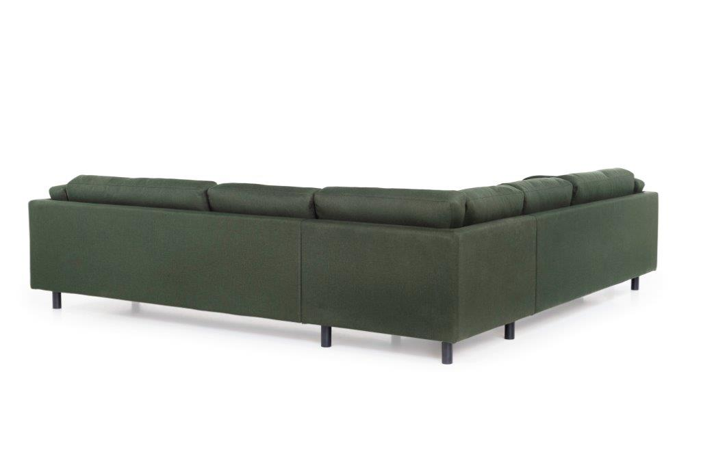 COUZ 2,5+90+2,5 (MALMO 17 green) back softnord soft nord scandinavian style furniture modern interior design sofa bed chair pouf upholstery
