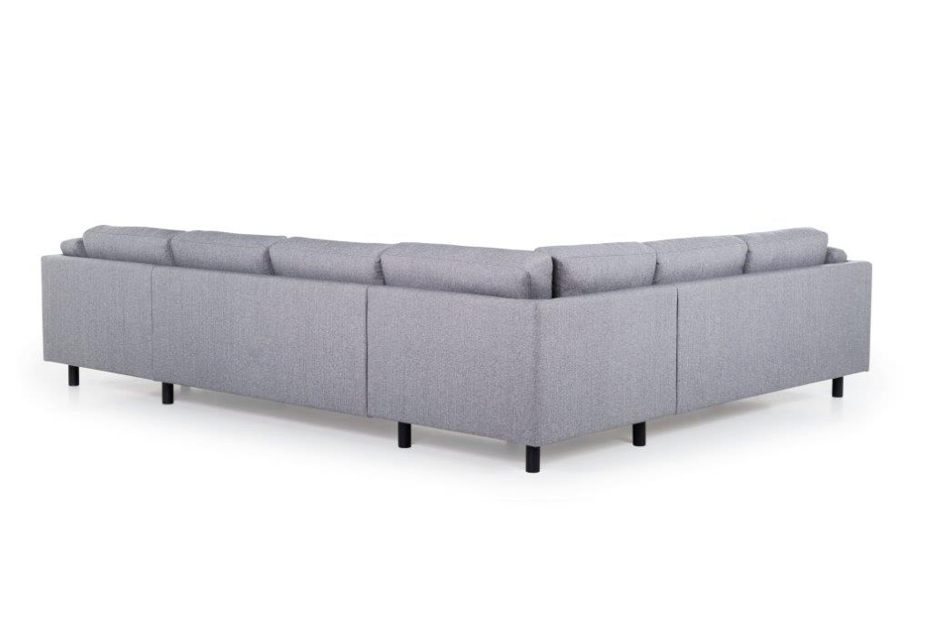 COUZ U-Corner with 2 seater (FAME 3.1 light grey) back softnord soft nord scandinavian style furniture modern interior design sofa bed chair pouf upholstery