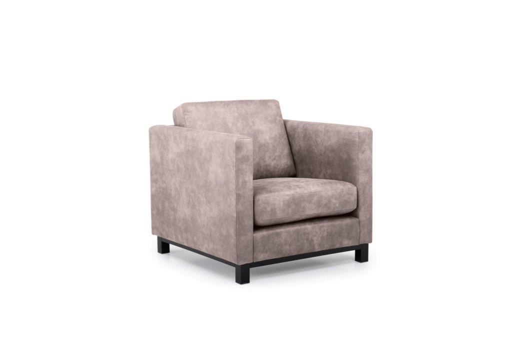 CUPID 1 seater (PRESTON 14 latte) side softnord soft nord scandinavian style furniture modern interior design sofa bed chair pouf upholstery