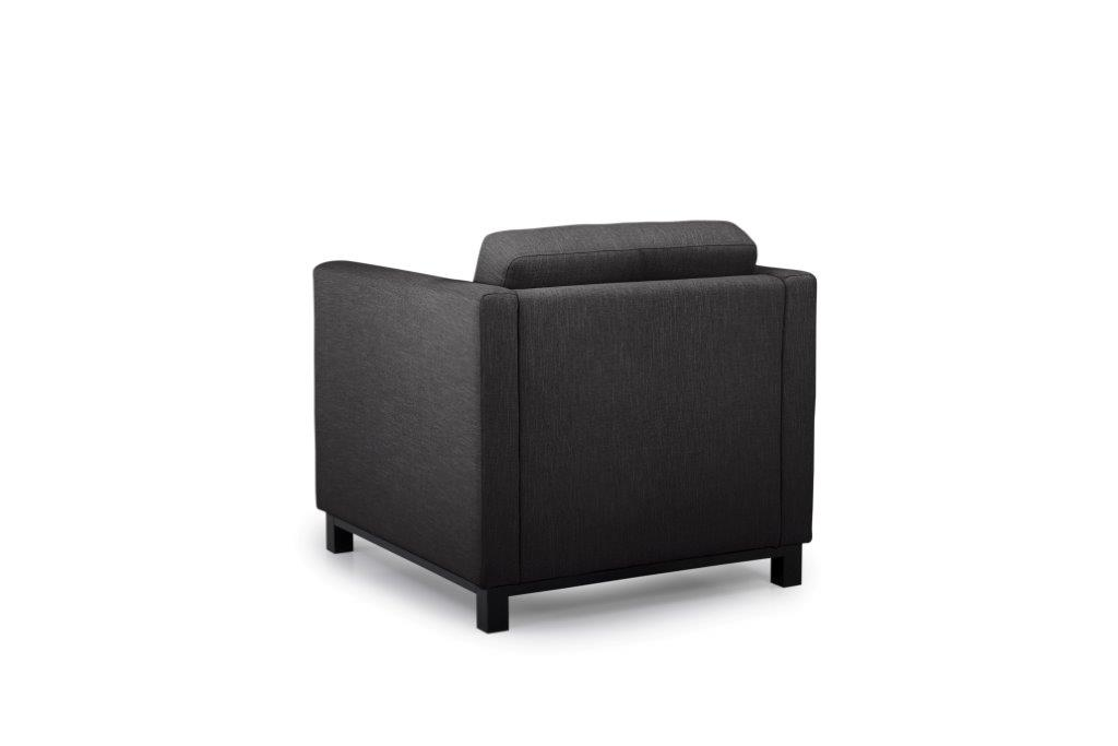 CUPID 1 seater (RONDA 99) back softnord soft nord scandinavian style furniture modern interior design sofa bed chair pouf upholstery