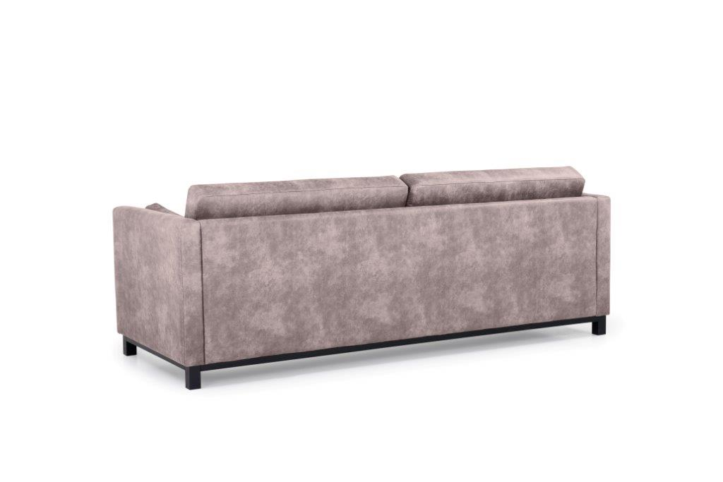 CUPID 3 seater (PRESTON 14 latte) back softnord soft nord scandinavian style furniture modern interior design sofa bed chair pouf upholstery