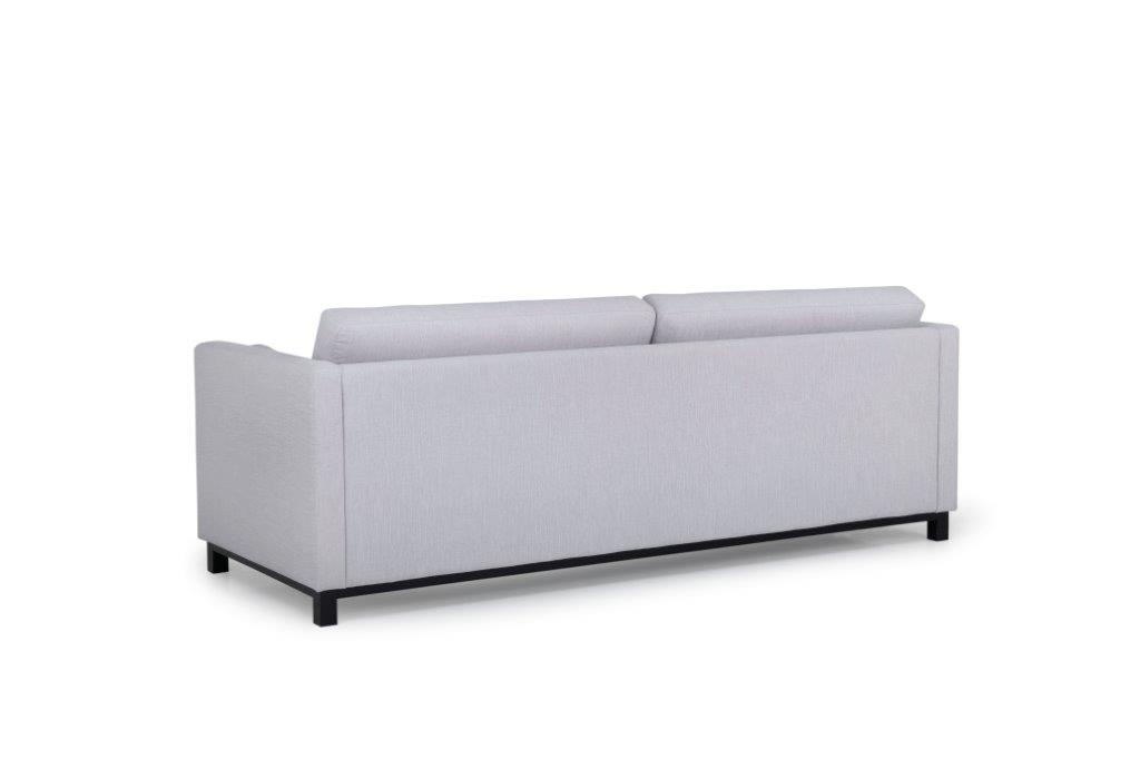 CUPID 3 seater (RONDA 3.1 light grey) back softnord soft nord scandinavian style furniture modern interior design sofa bed chair pouf upholstery