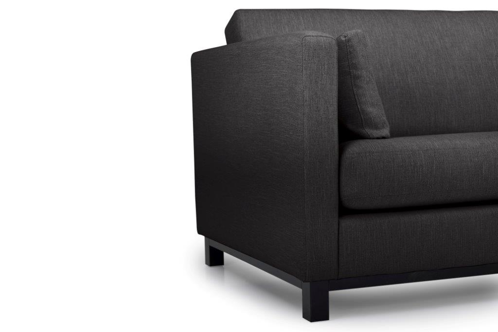 CUPID 3 seater (RONDA 99) arm+leg softnord soft nord scandinavian style furniture modern interior design sofa bed chair pouf upholstery