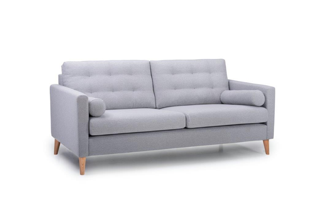 OSCAR 3 seater (Lindt 3.2 dark grey) side softnord soft nord scandinavian style furniture modern interior design sofa bed chair pouf upholstery