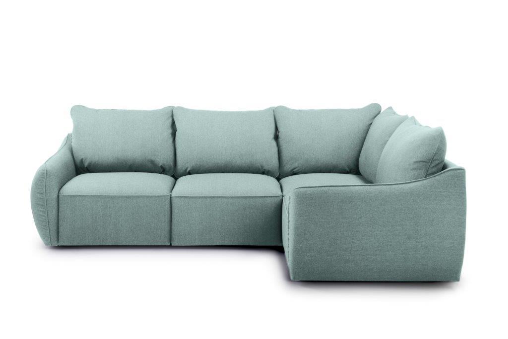 SCHERMAN 1+90+2 (VERONA 29 sapphire) front softnord soft nord scandinavian style furniture modern interior design sofa bed chair pouf upholstery