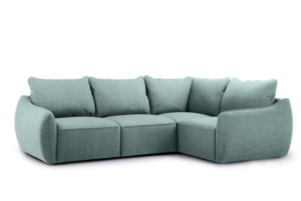 SCHERMAN 1+90+2 (VERONA 29 sapphire) side softnord soft nord scandinavian style furniture modern interior design sofa bed chair pouf upholstery