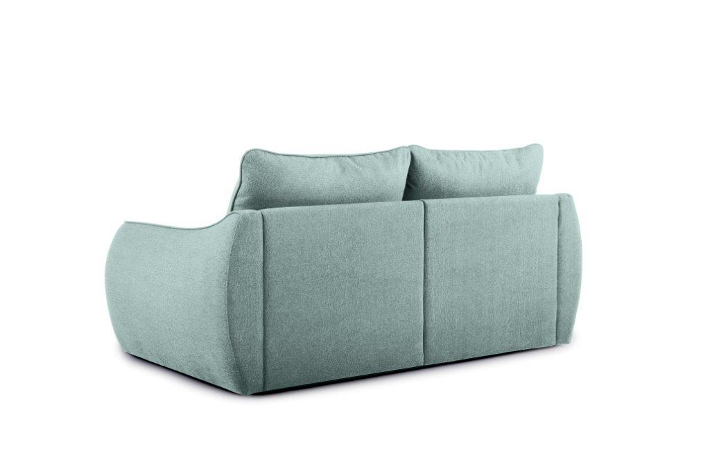 SCHERMAN 2 seater (VERONA 29 sapphire) back softnord soft nord scandinavian style furniture modern interior design sofa bed chair pouf upholstery