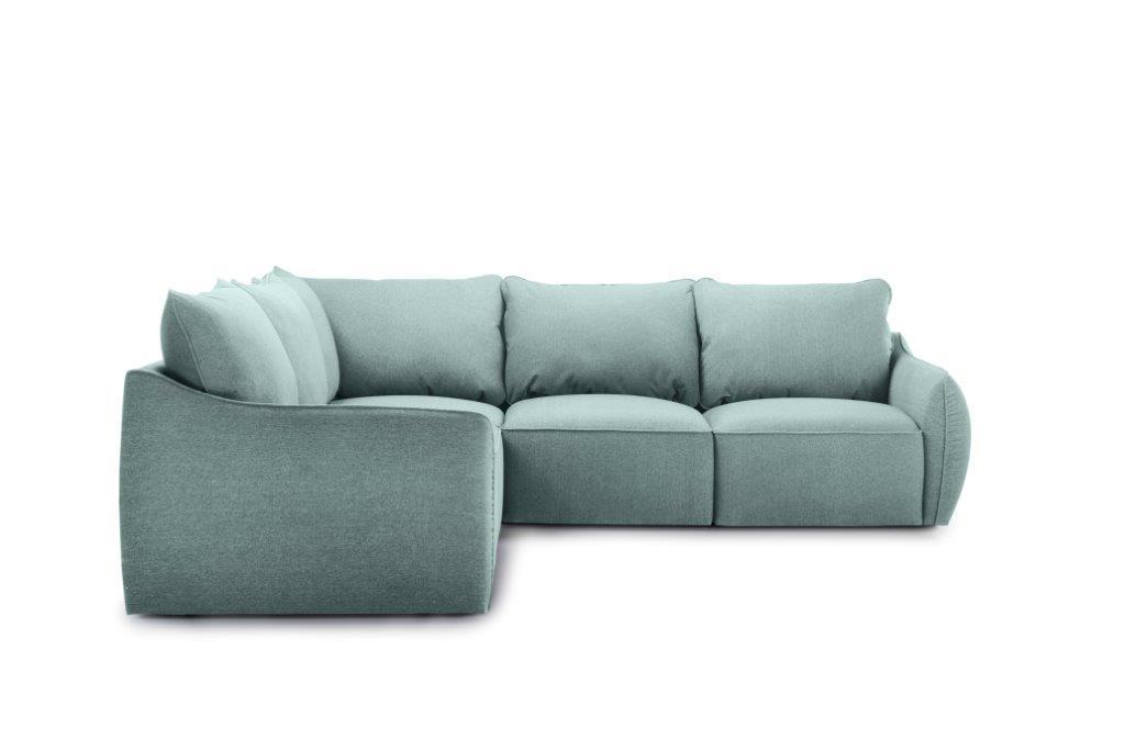 SCHERMAN 2+90+2 (VERONA 29 sapphire) front softnord soft nord scandinavian style furniture modern interior design sofa bed chair pouf upholstery