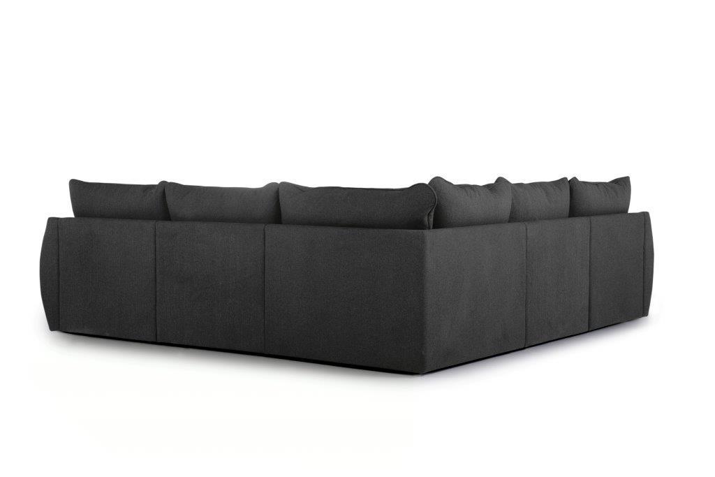 SCHERMAN 2+90+2 (VERONA 7 antrazite) back softnord soft nord scandinavian style furniture modern interior design sofa bed chair pouf upholstery