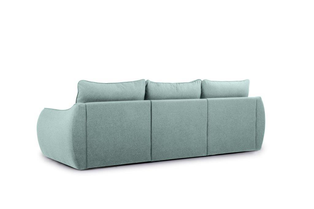 SCHERMAN 3 seater (VERONA 29 sapphire) back softnord soft nord scandinavian style furniture modern interior design sofa bed chair pouf upholstery