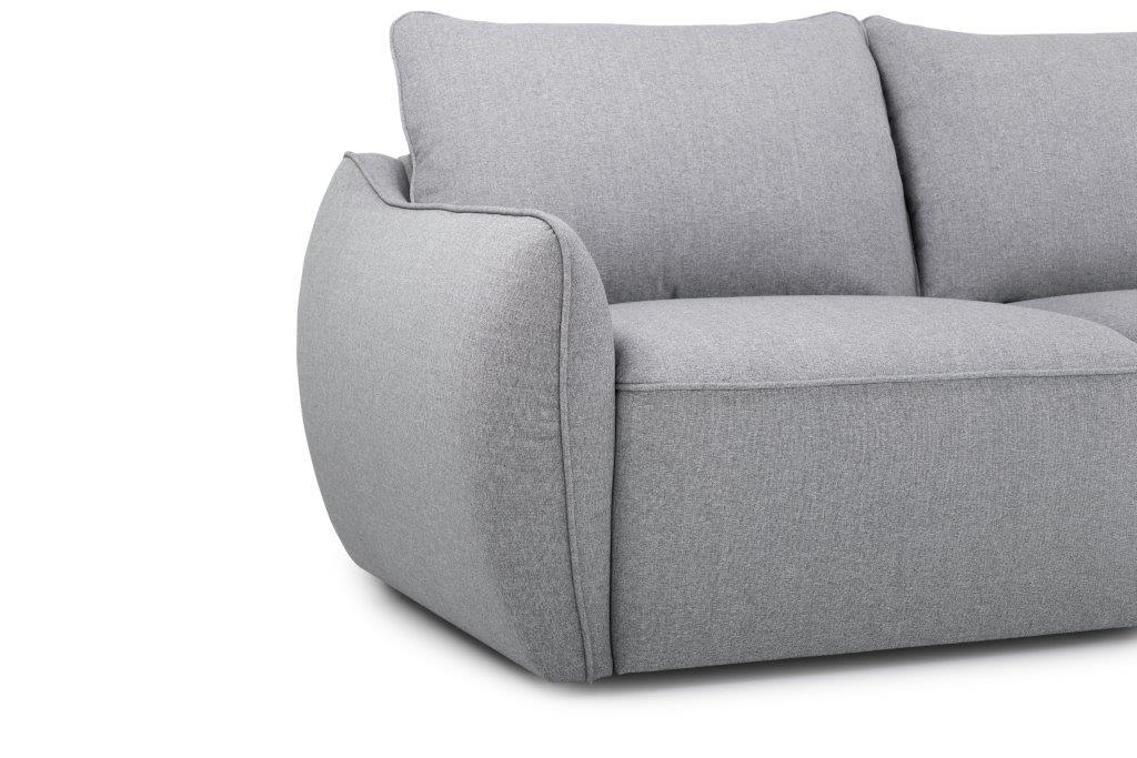 SCHERMAN 3+90+2 (FAME 3.1 light grey) arm softnord soft nord scandinavian style furniture modern interior design sofa bed chair pouf upholstery