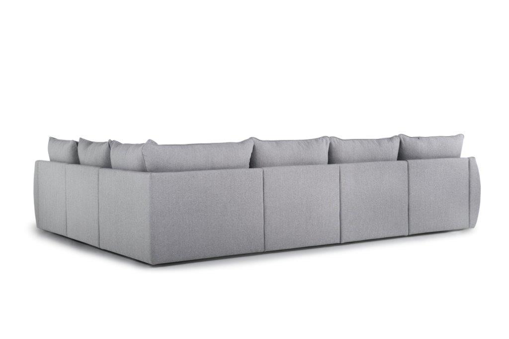 SCHERMAN 3+90+2 (FAME 3.1 light grey) back softnord soft nord scandinavian style furniture modern interior design sofa bed chair pouf upholstery