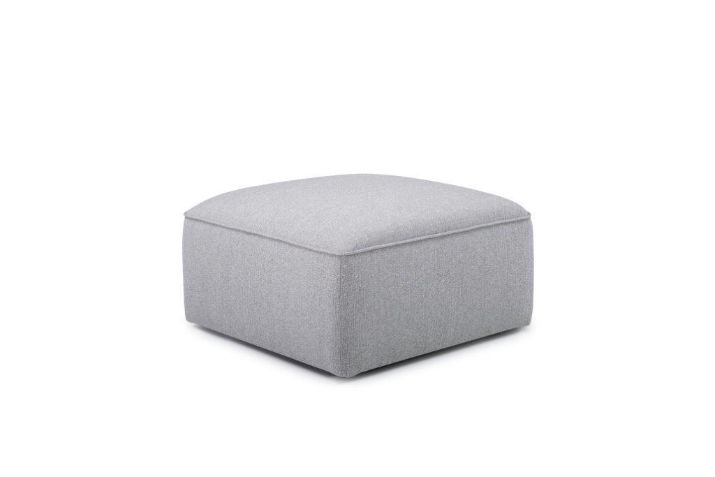 SCHERMAN pouf (FAME 3.1 light grey) side softnord soft nord scandinavian style furniture modern interior design sofa bed chair pouf upholstery