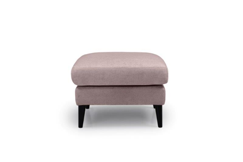 TIVOLI pouf (GUSTO 14 latte) front softnord soft nord scandinavian style furniture modern interior design sofa bed chair pouf upholstery