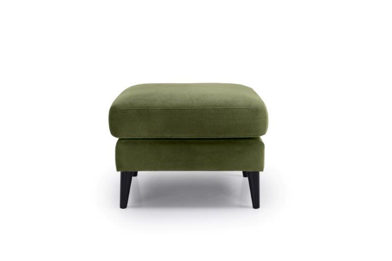 TIVOLI pouf (TRENTO 13 khaki) front softnord soft nord scandinavian style furniture modern interior design sofa bed chair pouf upholstery