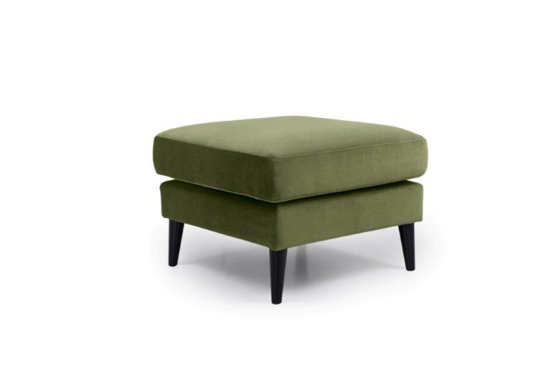TIVOLI pouf (TRENTO 13 khaki) side softnord soft nord scandinavian style furniture modern interior design sofa bed chair pouf upholstery
