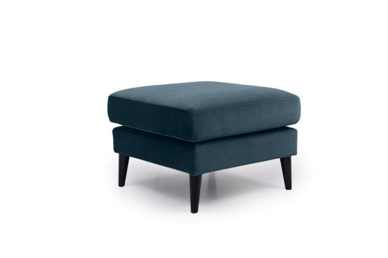 TIVOLI pouf (TRENTO 16 blue) side softnord soft nord scandinavian style furniture modern interior design sofa bed chair pouf upholstery