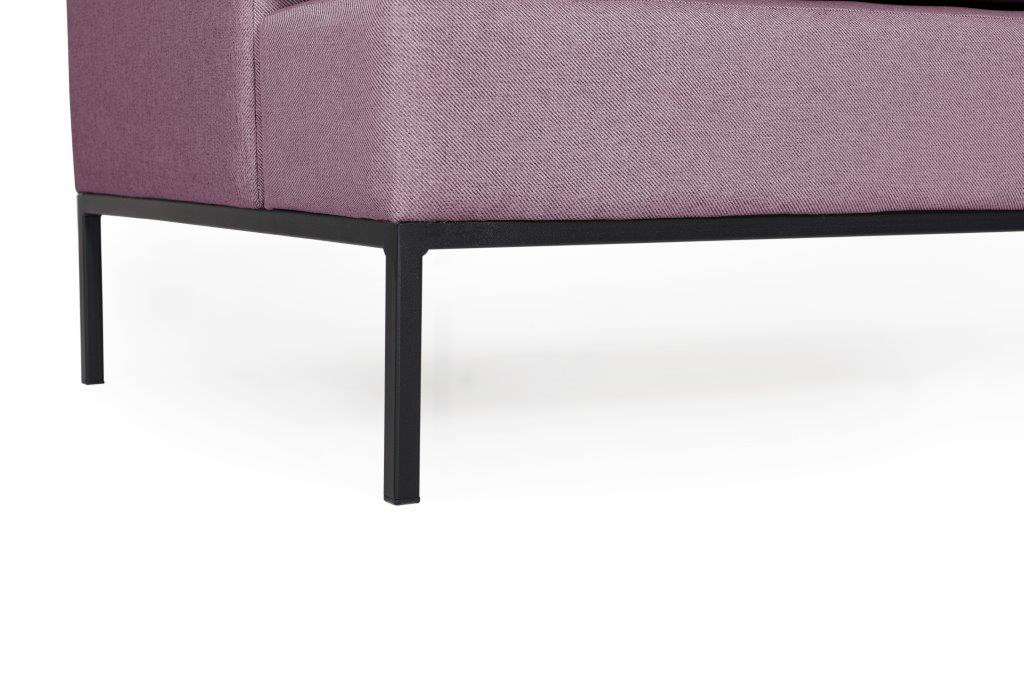 TOWN 3 seater (SALSA 15 purple) leg softnord soft nord scandinavian style furniture modern interior design sofa bed chair pouf upholstery
