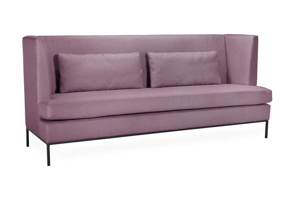 TOWN 4 seater (SALSA 15 purple) side softnord soft nord scandinavian style furniture modern interior design sofa bed chair pouf upholstery