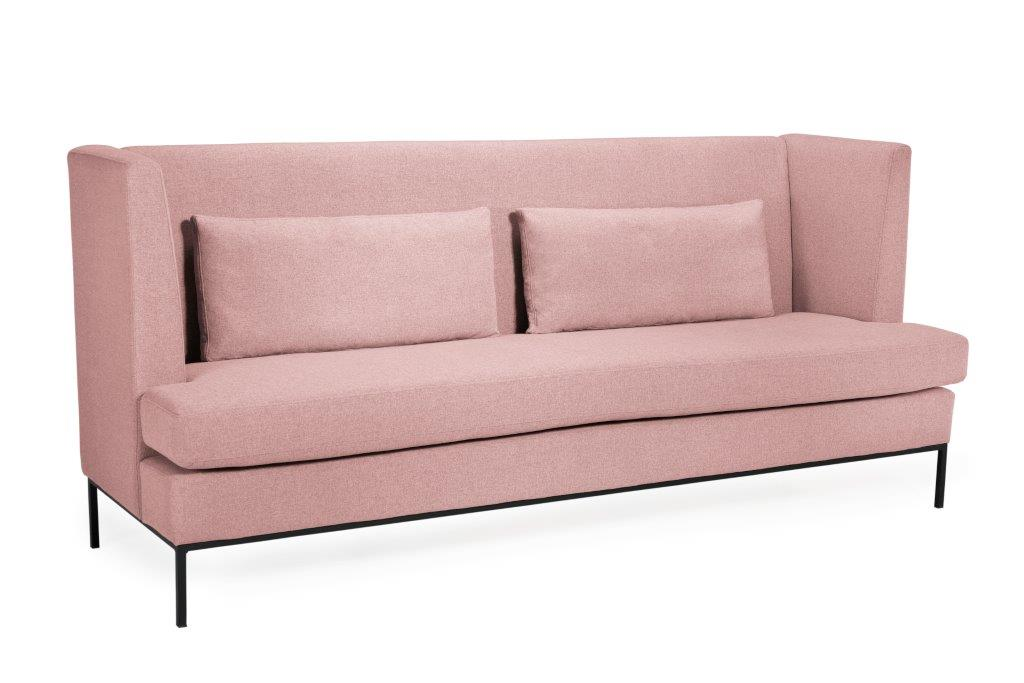 TOWN 4 seater (VERONA 11 pink) side softnord soft nord scandinavian style furniture modern interior design sofa bed chair pouf upholstery