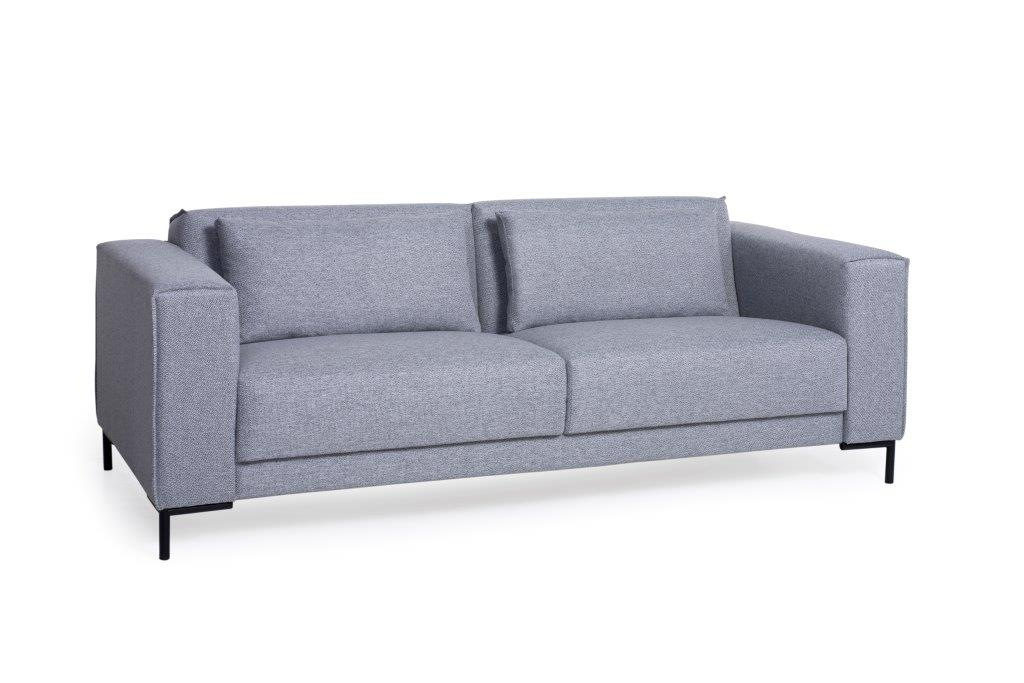 FINN 3 seater (CHARM 3 grey) (1) softnord soft nord scandinavian style furniture modern interior design sofa bed chair pouf upholstery