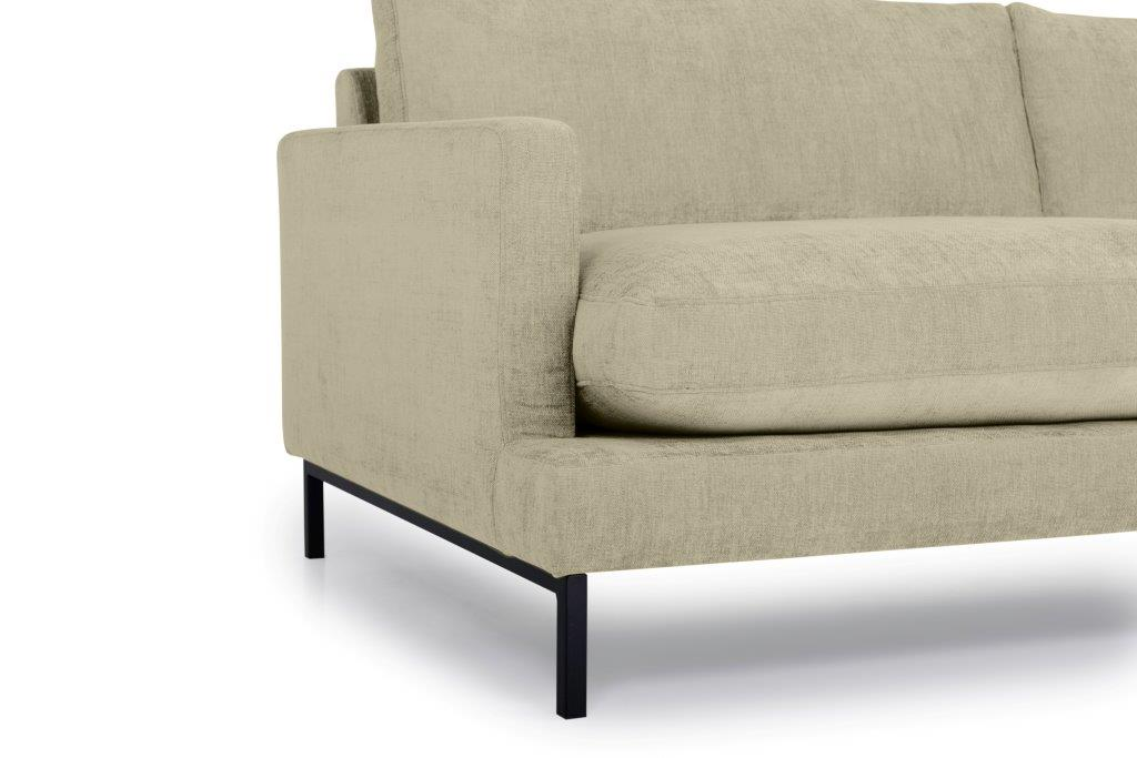 LEKEN 3 seater (CONCEPT 14 latte) arm+leg softnord soft nord scandinavian style furniture modern interior design sofa bed chair pouf upholstery