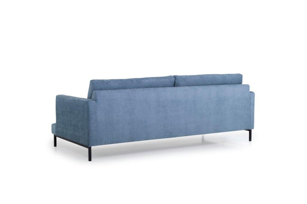 LEKEN 3 seater (CONCEPT 16 blue) back softnord soft nord scandinavian style furniture modern interior design sofa bed chair pouf upholstery