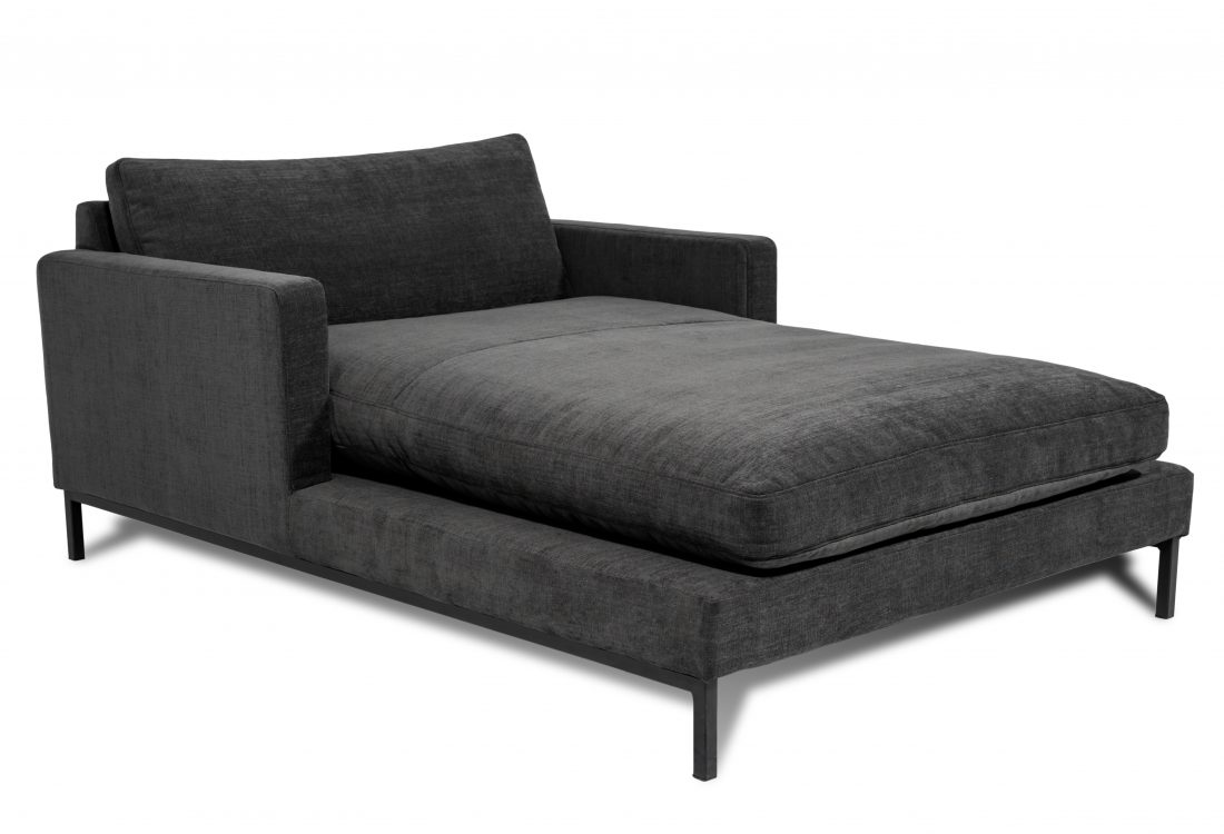 LEKEN chaiselongue with 2 arms scandinavian sofas softnord