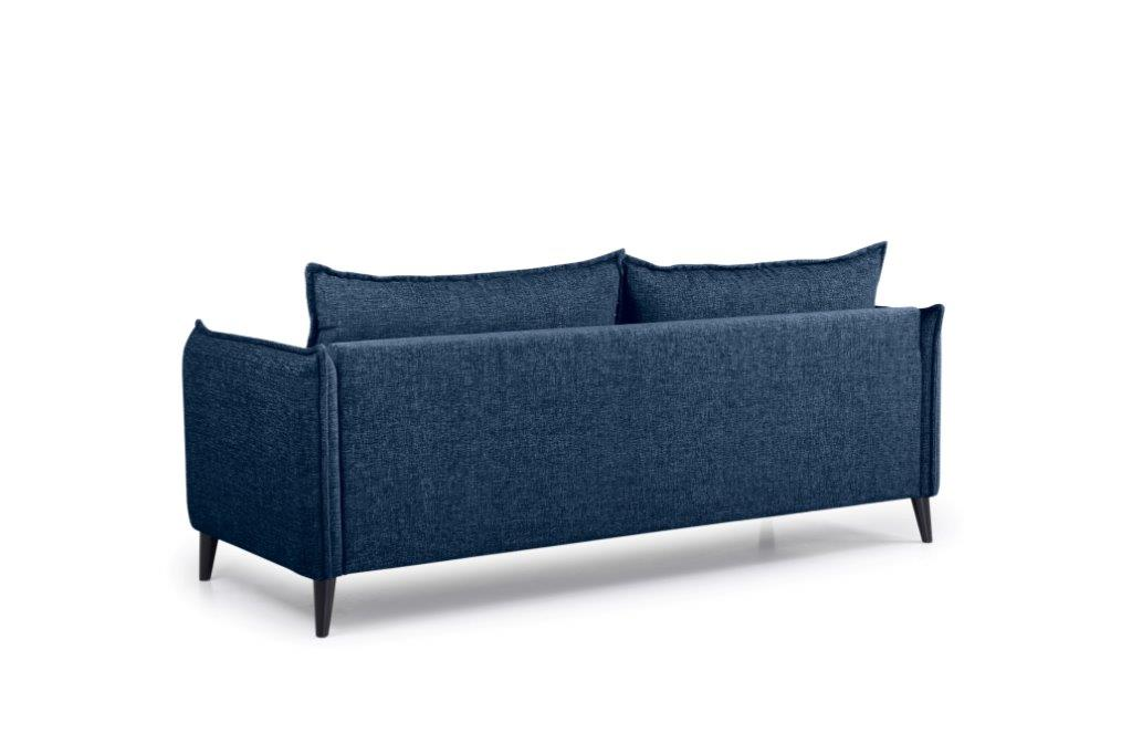 LEO 3 seater (DOKKER 16.2 dark blue) back softnord soft nord scandinavian style furniture modern interior design sofa bed chair pouf upholstery
