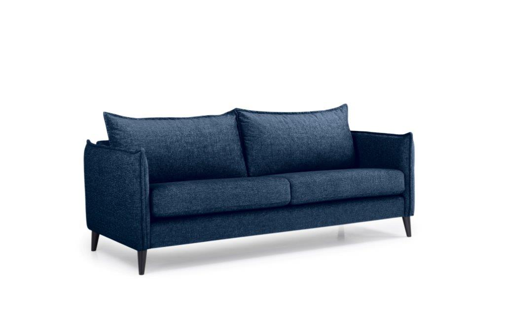 LEO 3 seater (DOKKER 16.2 dark blue) side softnord soft nord scandinavian style furniture modern interior design sofa bed chair pouf upholstery