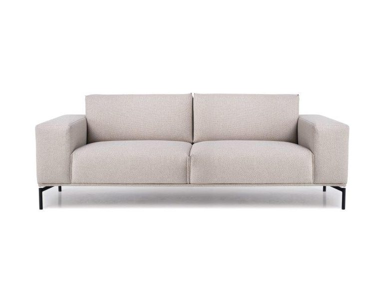 LISBON 3 SEATER (BERING 8 beige) front, arm B softnord soft nord scandinavian style furniture modern interior design sofa bed chair pouf upholstery