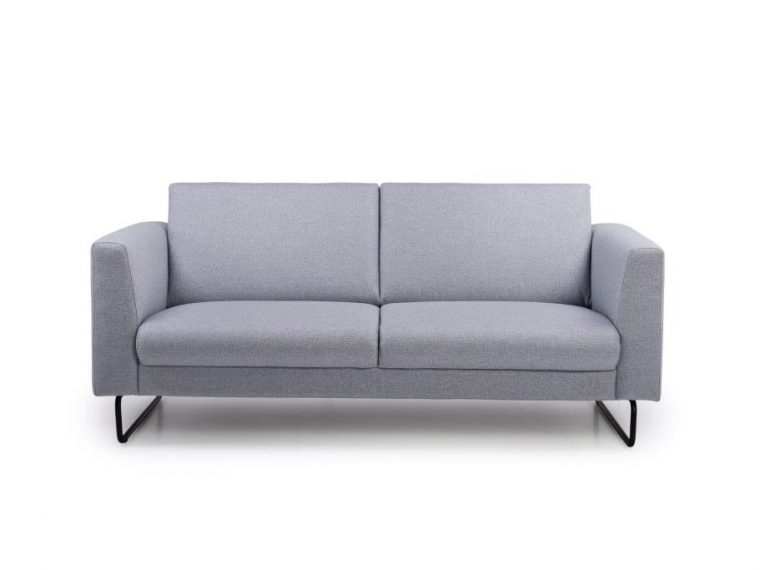 MARIO 2,5-seater (LINEA 3 grey) front softnord soft nord scandinavian style furniture modern interior design sofa bed chair pouf upholstery