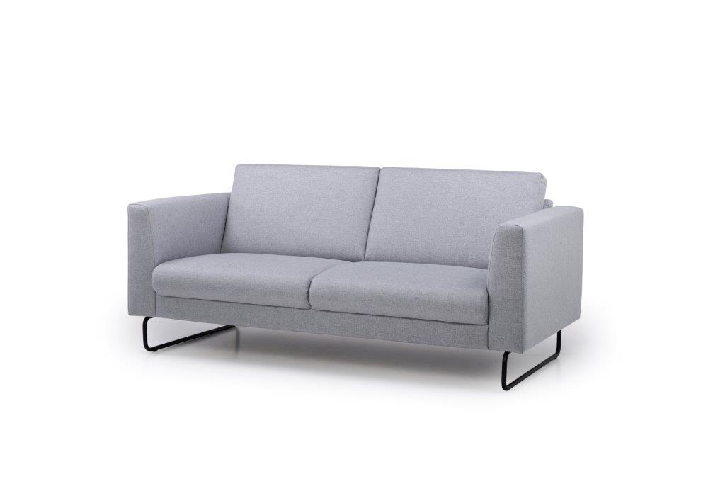 MARIO 2,5-seater (LINEA 3 grey) side softnord soft nord scandinavian style furniture modern interior design sofa bed chair pouf upholstery