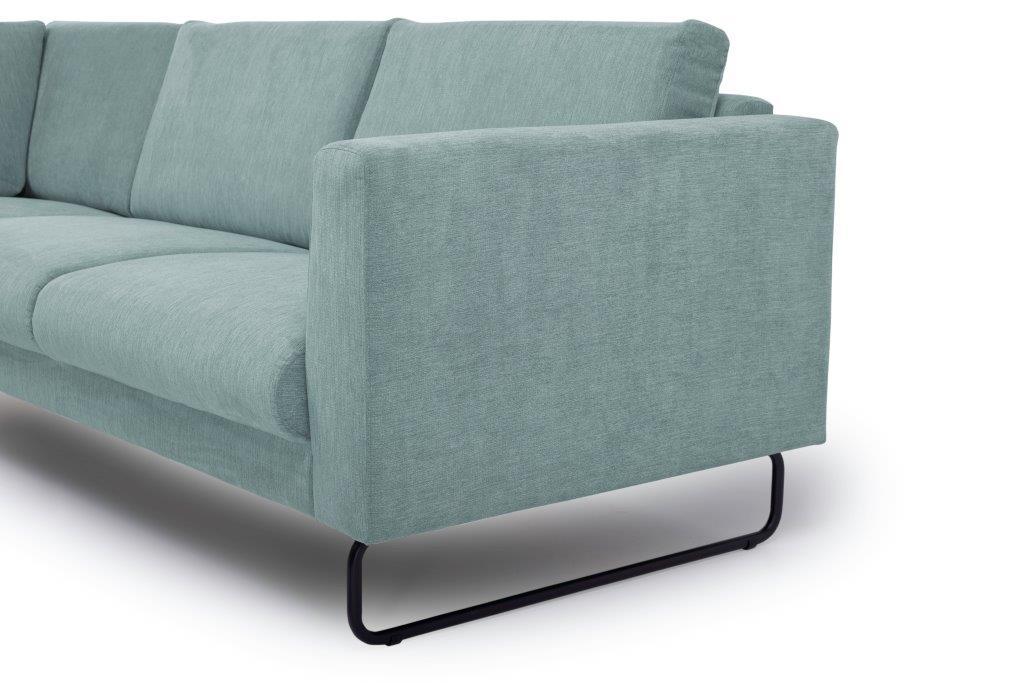 MARIO 2+90+2,5 (ORINOCO 29 sapphire) arm+leg softnord soft nord scandinavian style furniture modern interior design sofa bed chair pouf upholstery