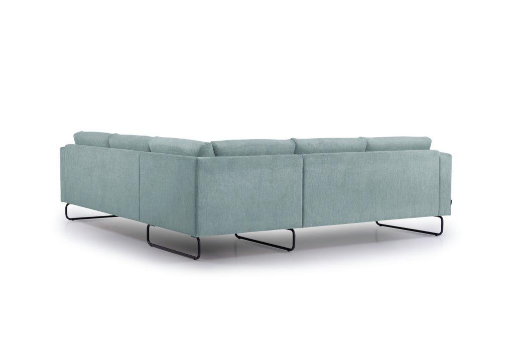 MARIO 2+90+2,5 (ORINOCO 29 sapphire) back softnord soft nord scandinavian style furniture modern interior design sofa bed chair pouf upholstery