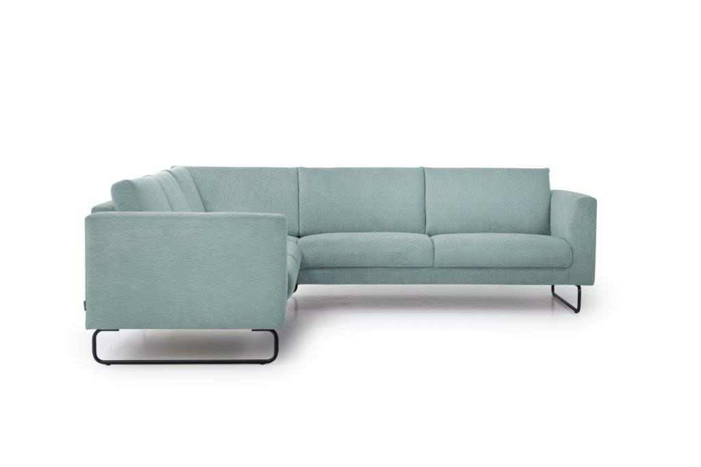 MARIO 2+90+2,5 (ORINOCO 29 sapphire) front softnord soft nord scandinavian style furniture modern interior design sofa bed chair pouf upholstery